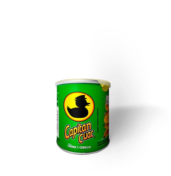 Capitan Cuac - Sabor Crema y Cebolla